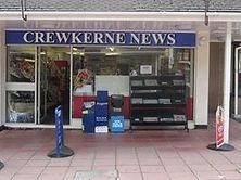 Crewkerne newsagent