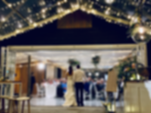 Wedding speeches at Black Barn, Rotorua
