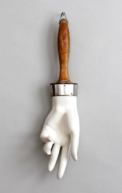 mannequin hand brush