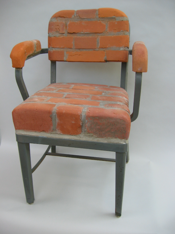 brick chair