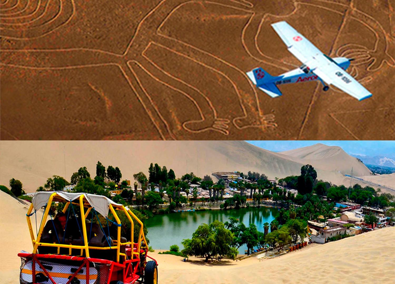 Publi Oasis + lineas de Nazca