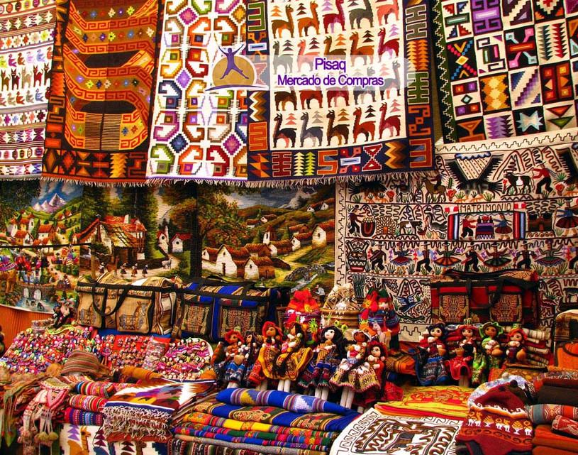 Mercado en Cusco Pisaq