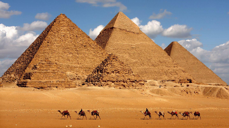 Piramides en El Cairo