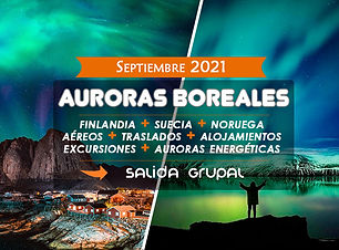 Viaje Grupal Auroras Boreales