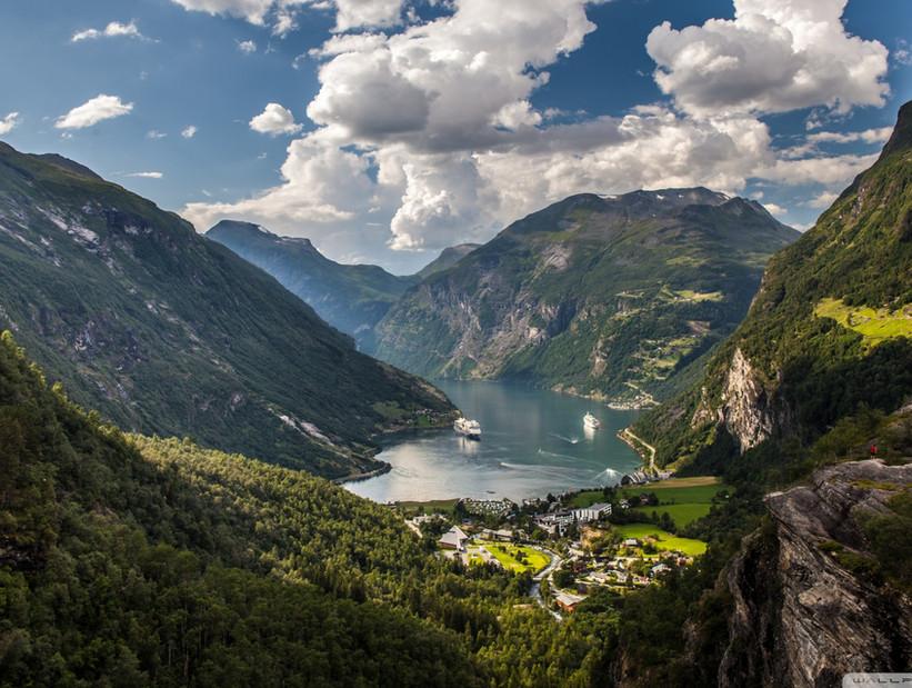 Geiranger Noruega