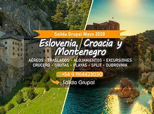 Viaje Grupal Eslovenia, Croacia y Montenegro