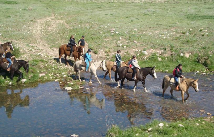 Cabalgata por las Sierras