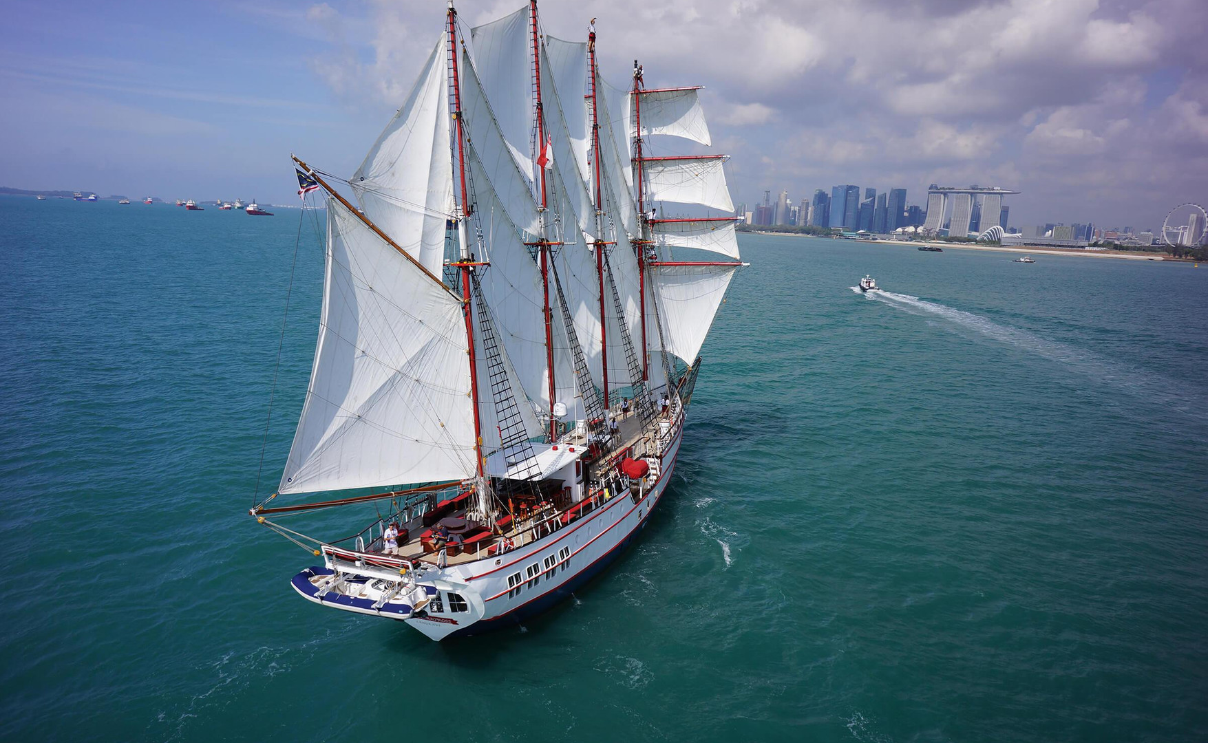 Barco Velero Increible