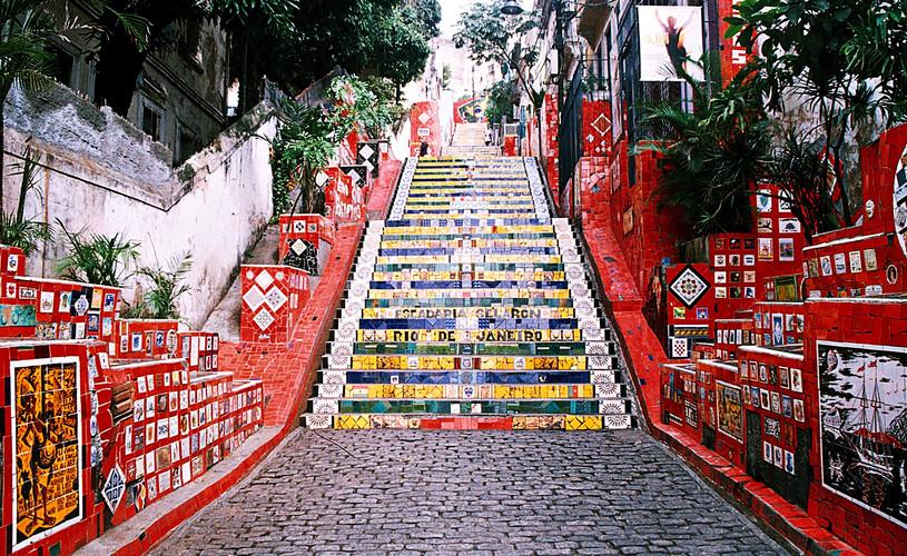 Escalera Selaron Santa Teresa