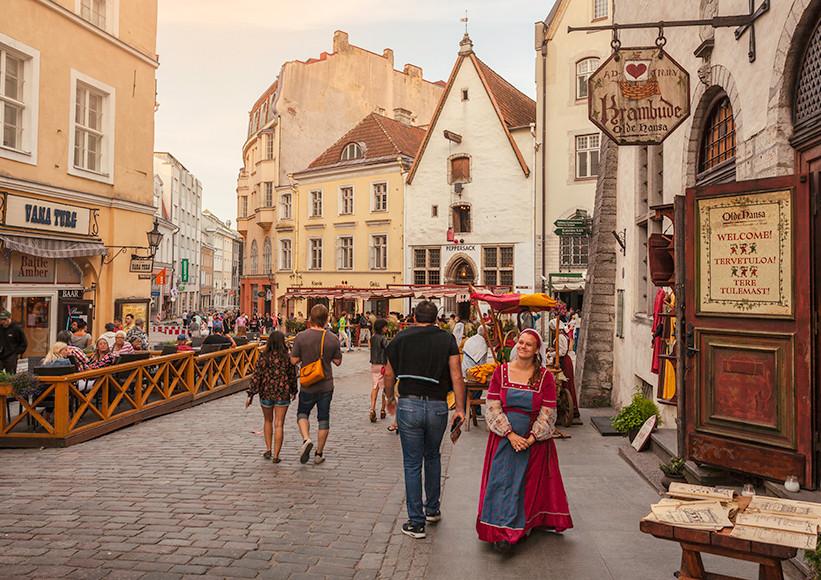 Tallinn callejuelas