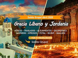 Salida Grupal Grecia, Libano y Jordania