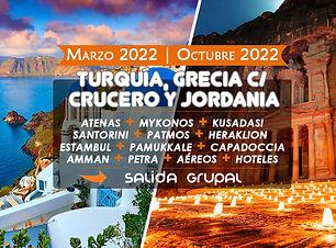 Paquete a Jordania Grecia y Turquia 2022