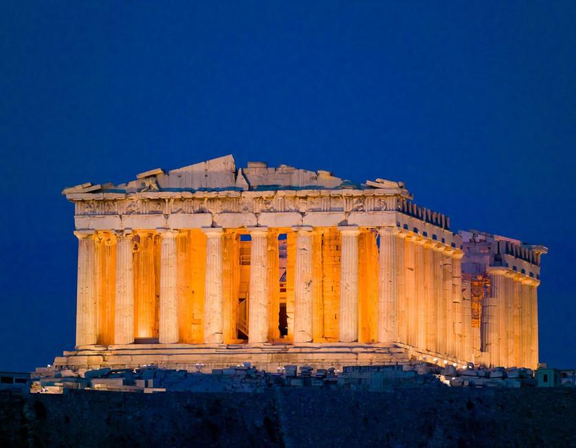 Acropolis Nocturno