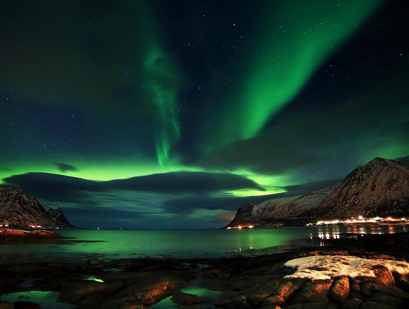 Lofoten Noruega Aurora