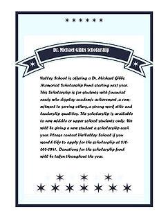 Dr. Michael Gibbs Scholarship Fund.jpg