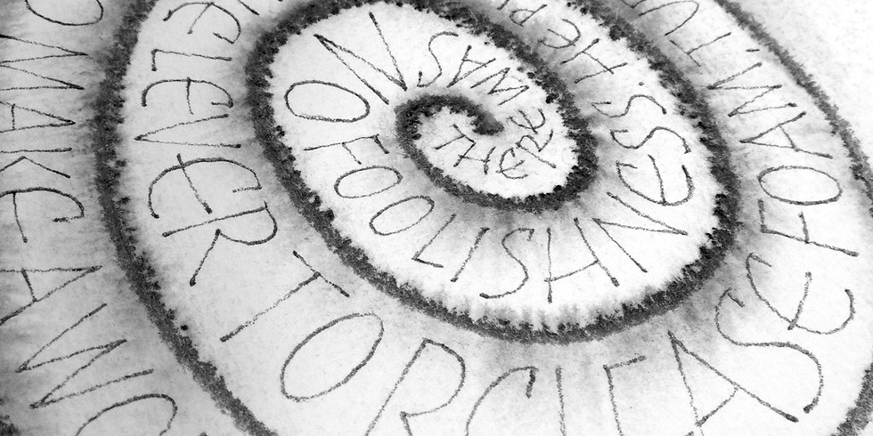 Graphite Effects for Lettering - $35 (One 2-hour Zoom class, 10am-12pm)