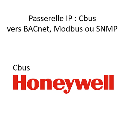 Passerelle Cbus Honeywell vers BACnet IP
