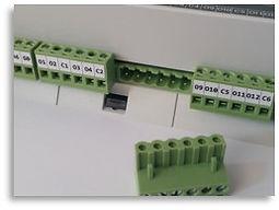 Bornier débrochables  Gateway IP Modbus & Mbus