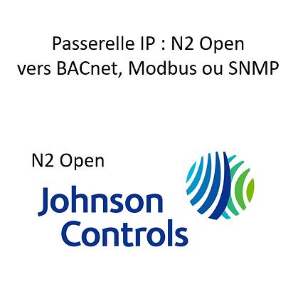 Passerelle N2 Open vers BACnet IP