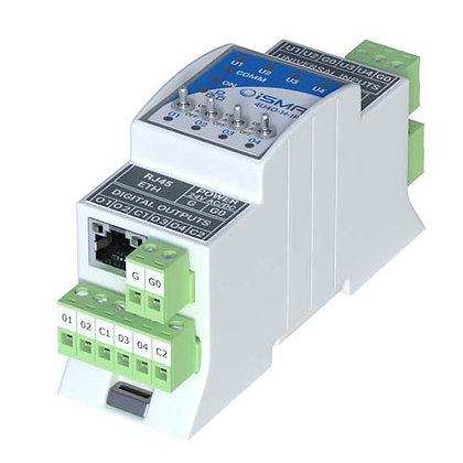 iSMA-4U4O-H-IP (4UI4DO-IP)