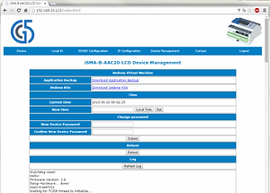 Serveur Web Automate programmble AAC20