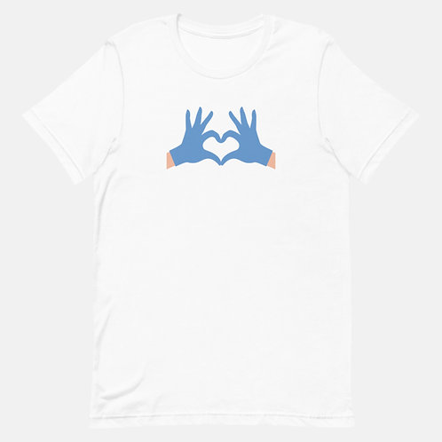 Social Distancing with Love Tee
