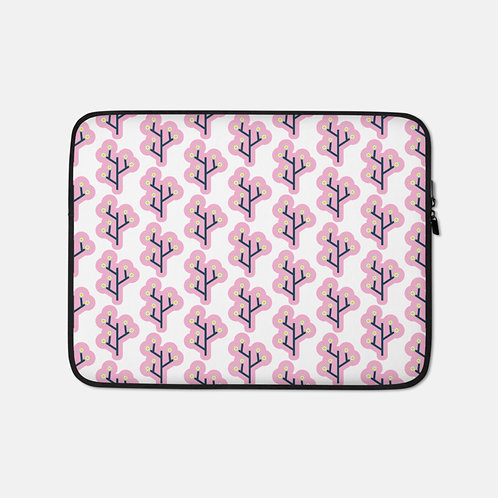 Pink Clouds Laptop Sleeve