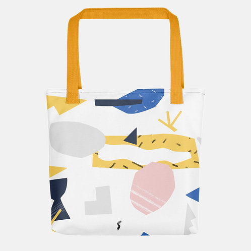 Colorful Shapes Tote