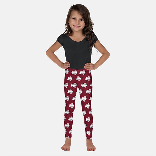 Mini Tattoo Hearts Kids Leggings