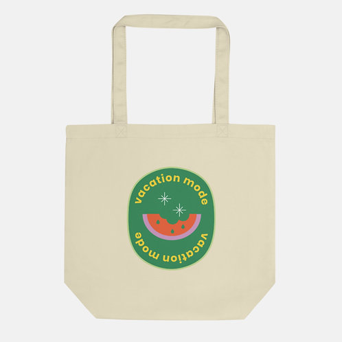 Vacation Mode Watermelon Tote
