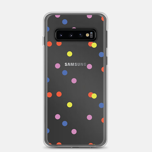 Colorful Dots Samsung Case