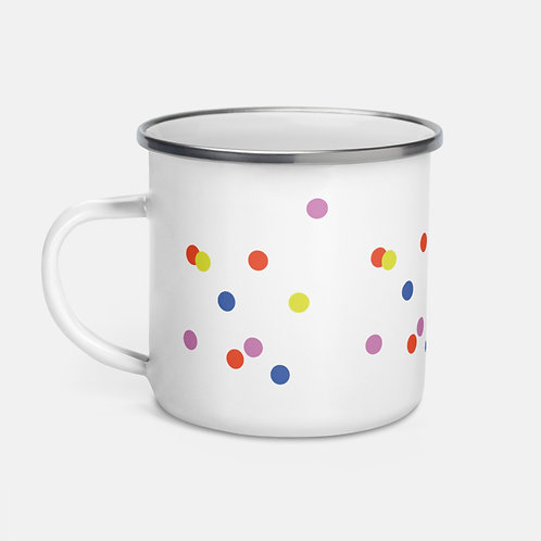 Colorful Polka Dots Mug