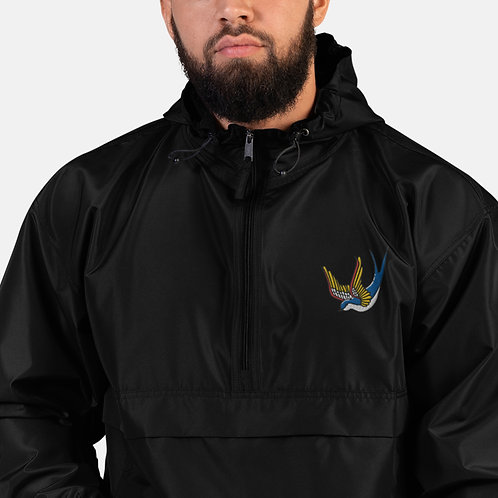 Colorful Winged Bird Packable Jacket