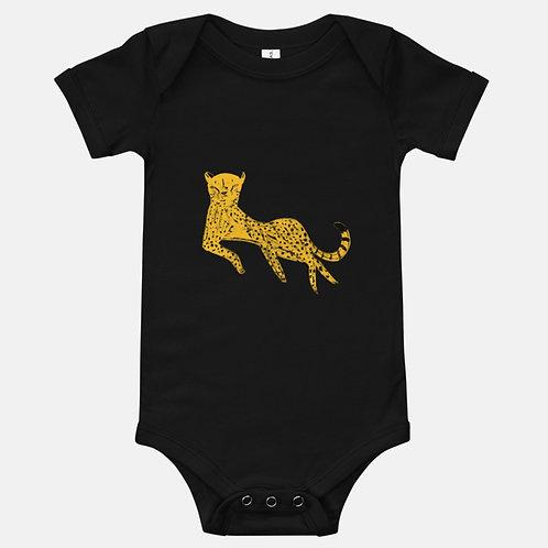 Sleeping Cheetah Baby One-Piece