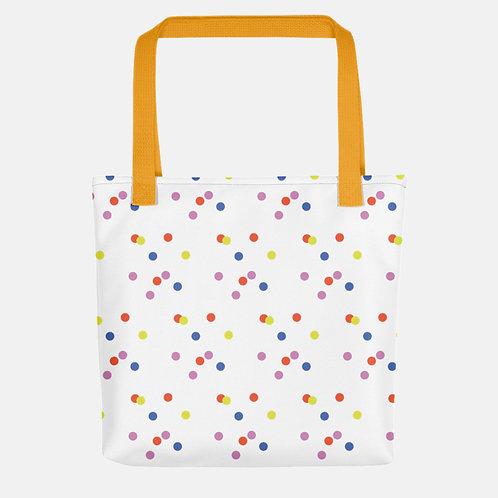 Colorful Polka Dots Tote