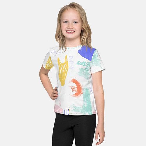 Shapes & Colors Kids Tee