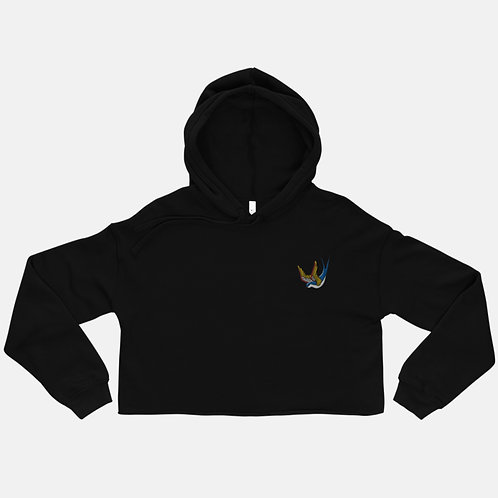 Colorful Winged Bird Hoodie