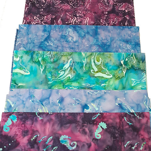 Sea Creature Batik Set