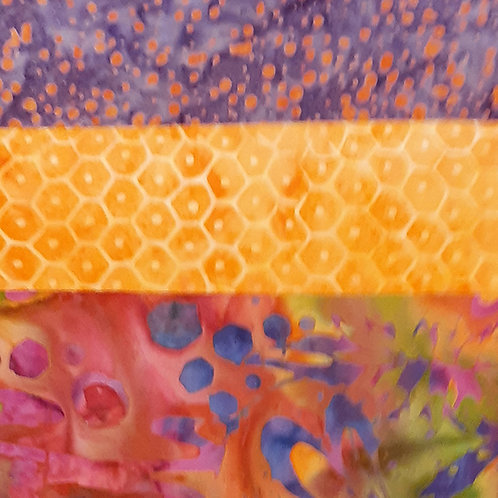 Shades of Orange Batik Set