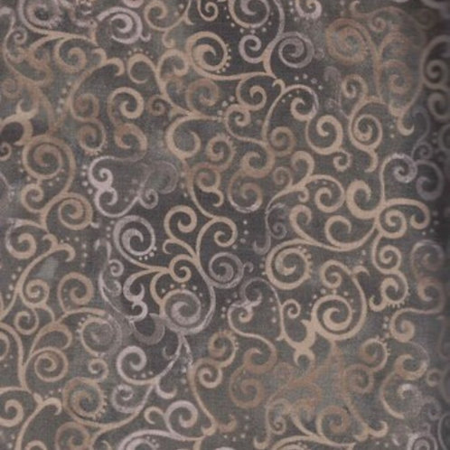 Ombre Scroll Taupe