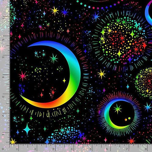 Rainbow Moon and Stars