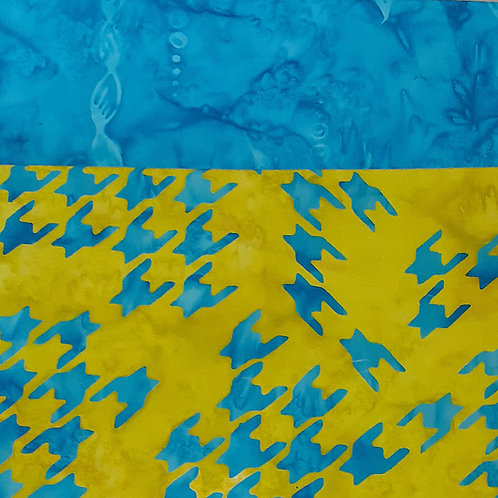 Blue Marble Batik Set