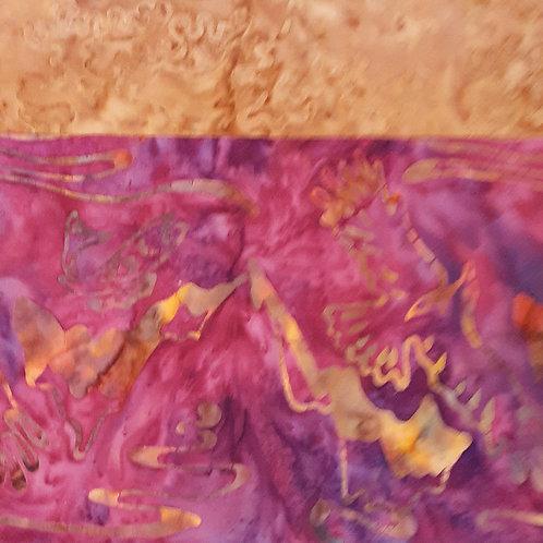Soaring Orange Batik Set
