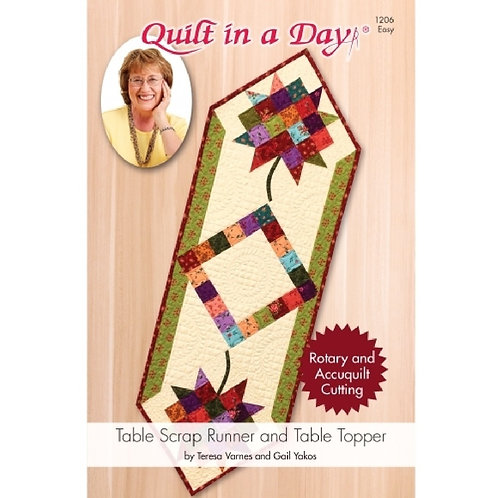 Table Scrap Runner and Table Topper