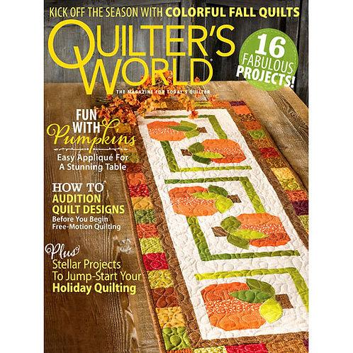 Quilter's World Magazine - Autumn 2020