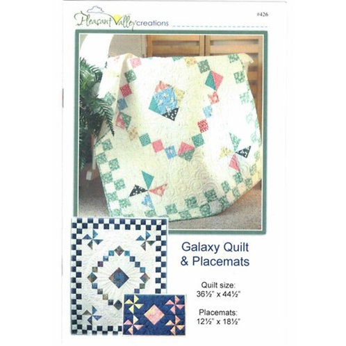 Galaxy Quilt & Placemats