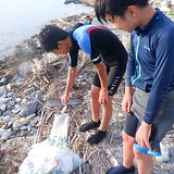 浜名湖 村櫛 ウインドサーフィン スクール ビーチクリーン 2021.7.21.jpg