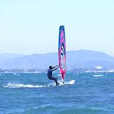 浜名湖 村櫛海岸 ウインドサーフィン 2021.3.15 .jpg