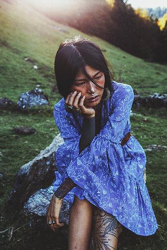 BELLAMY dress in Blue sky