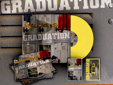 Graduation on tape, CD and reissued on vinyl